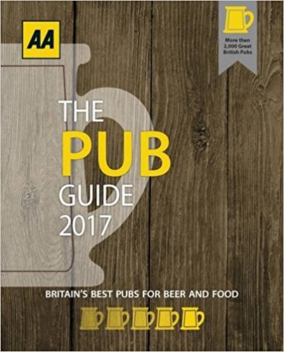 We are listed in the AA Pub Guide 2015
