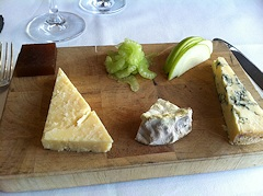 Cheese Board at the Royal Oak Inn, Meavy