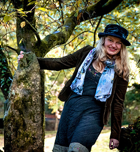 Eliza Acty at Meavy Parish Hall