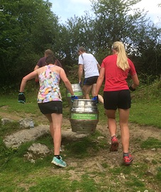 Dartmoor Firkin Challenge, Maddy Horton and Lucy Allan