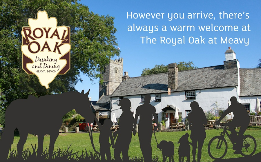 However you arrive at the Royal Oak Inn