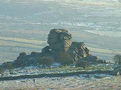 Vixen Tor, from Michael Parle's photos of Dartmoor