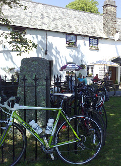 Royal Oak Inn, an ideal stop on your cycle ride